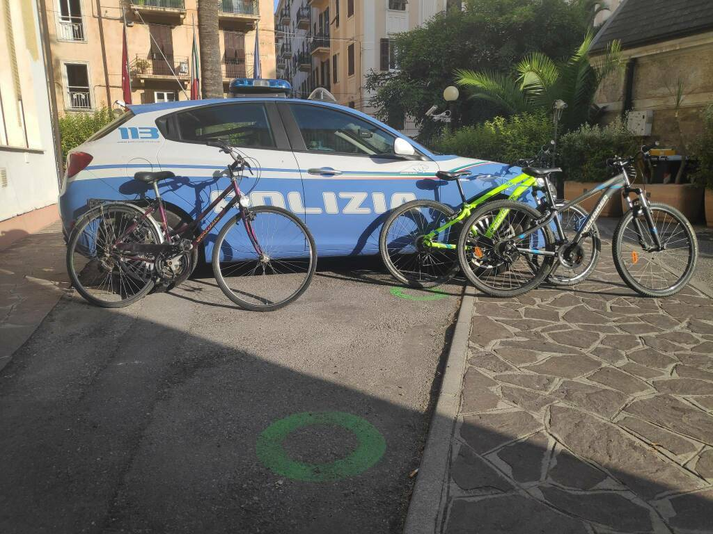Recuperate tre bici ad Alassio