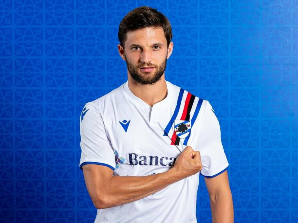 sampdoria seconda maglia