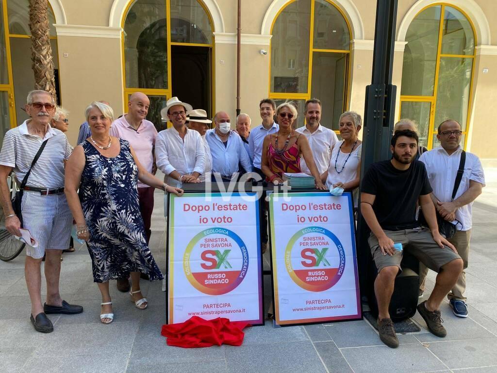 """""""Sinistra per Savona"""" presenta il simbolo e la lista civica"""