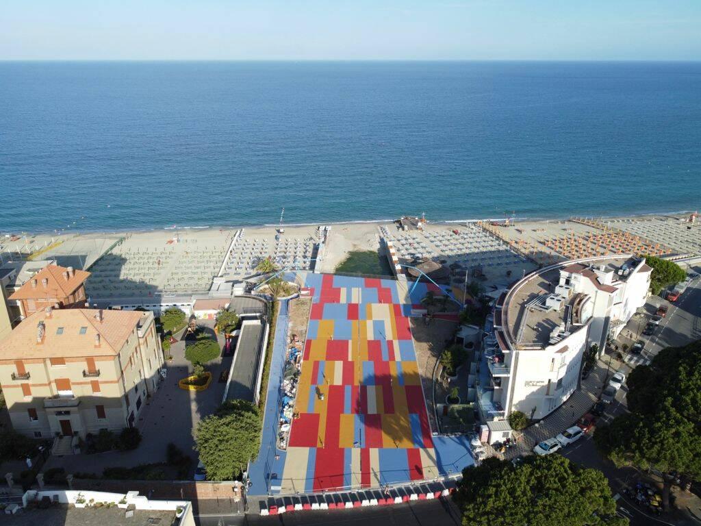 terrazza a mare spotorno