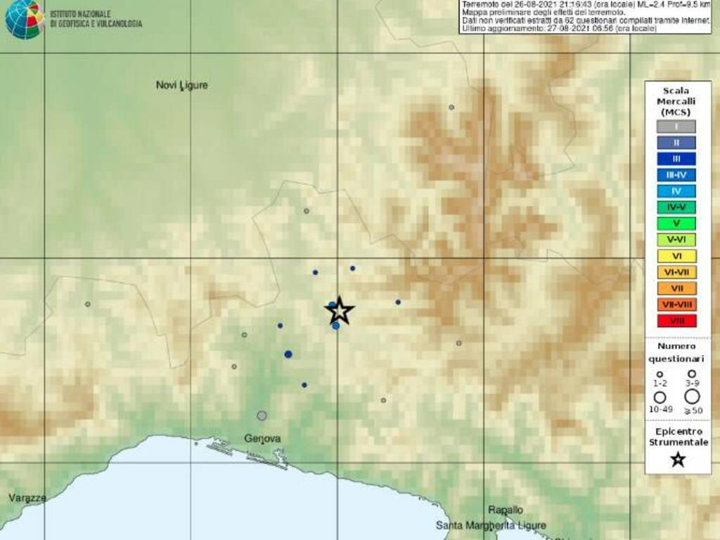 terremoto casella