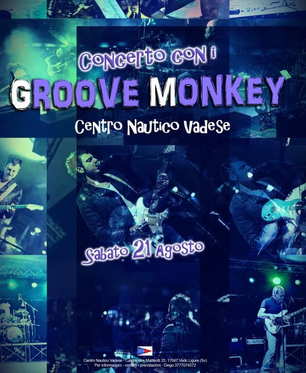 Vado Ligure concerto Groove Monkey agosto 2021