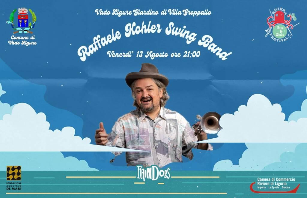 Vado Ligure concerto Raffaele Kohler Swing Band