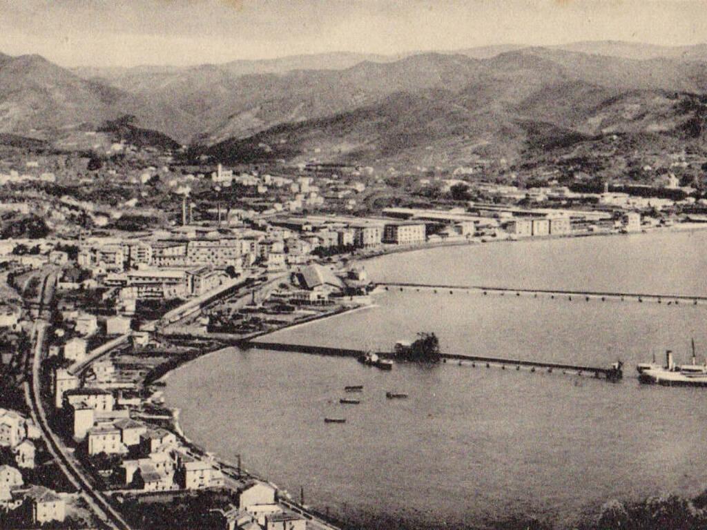 Vado Ligure panorama foto storica