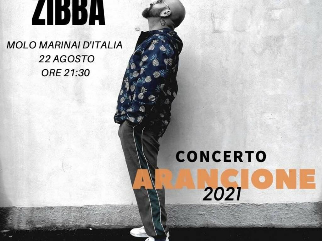 "Varazze ""Concerto Arancione"" cantautore Zibba"