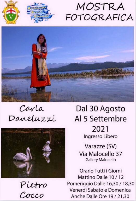 Varazze mostra fotografie Carla Daneluzzi e Pietro Cocco Gallery Malocello