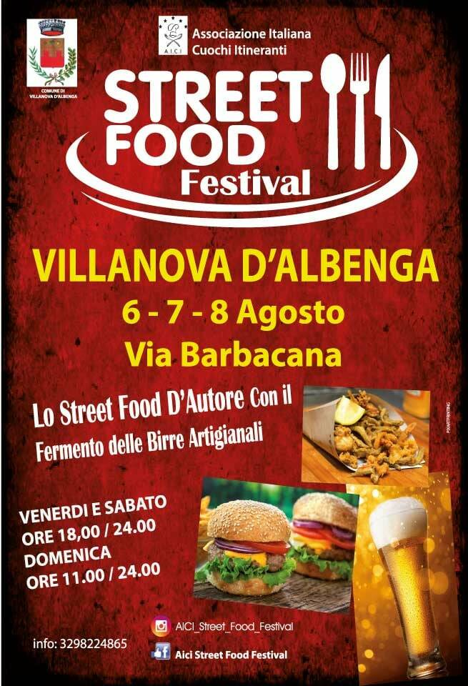 Villanova d'Albenga Street Food Festival 2021