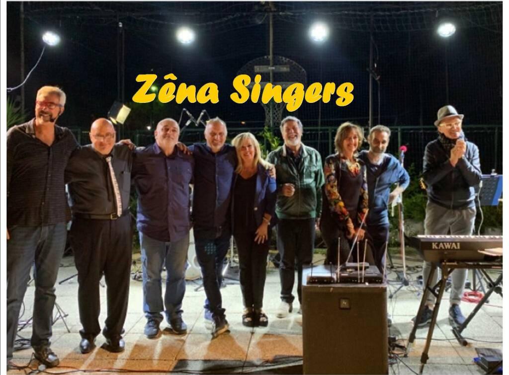 Zêna Singers gruppo musicale (formazione 2020 + logo)