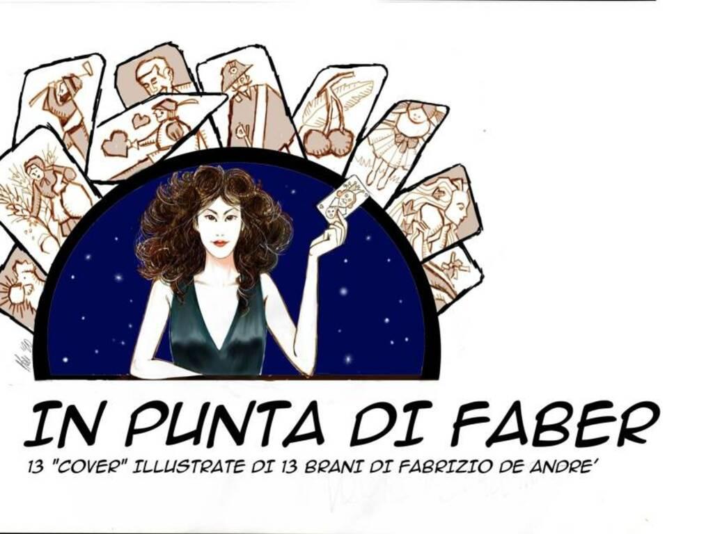 """Albenga """"In punta di Faber"""" mostra Mauro Moretti disegnatore"""