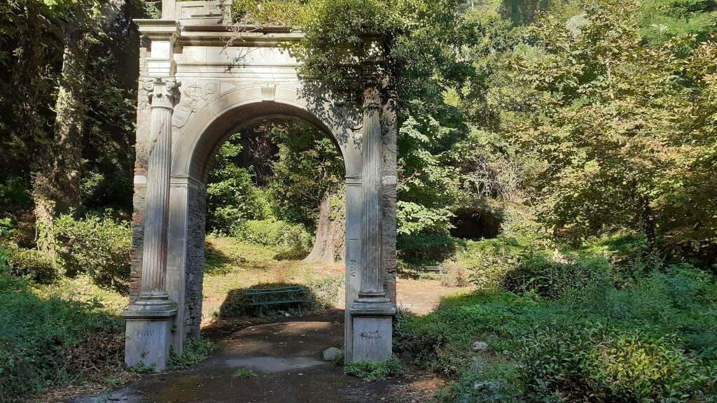arco valletta del leone, villa duchessa di galliera