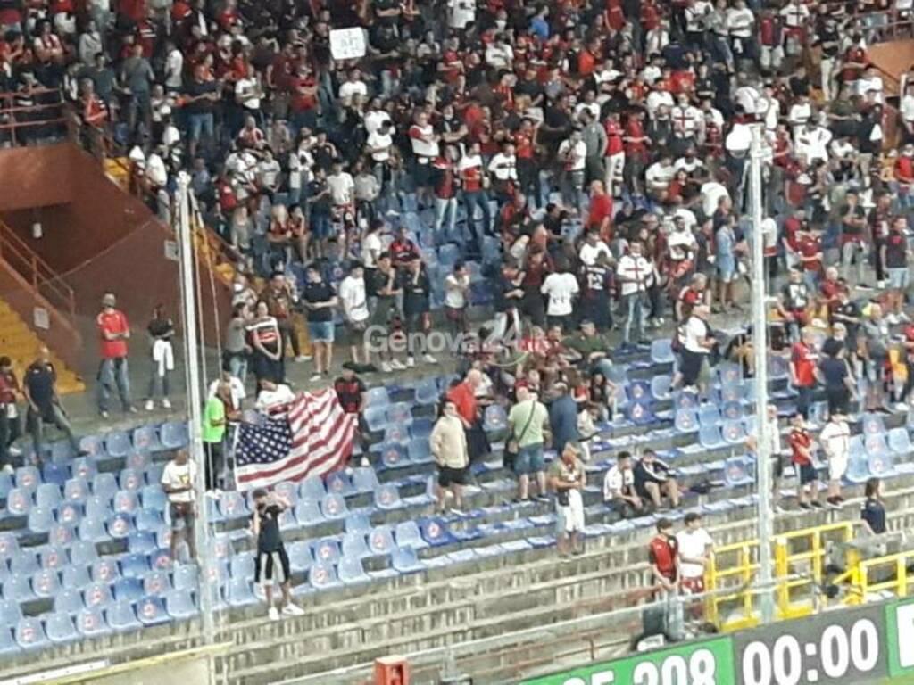 bandiere usa nella nord