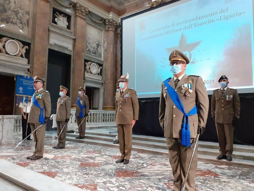 Cambio al vertice del comando militare dell'esercito in Liguria