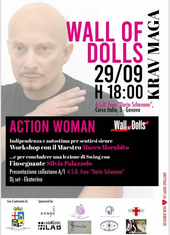 Wall of Dolls lancia il progetto Action Woman Krav Maga