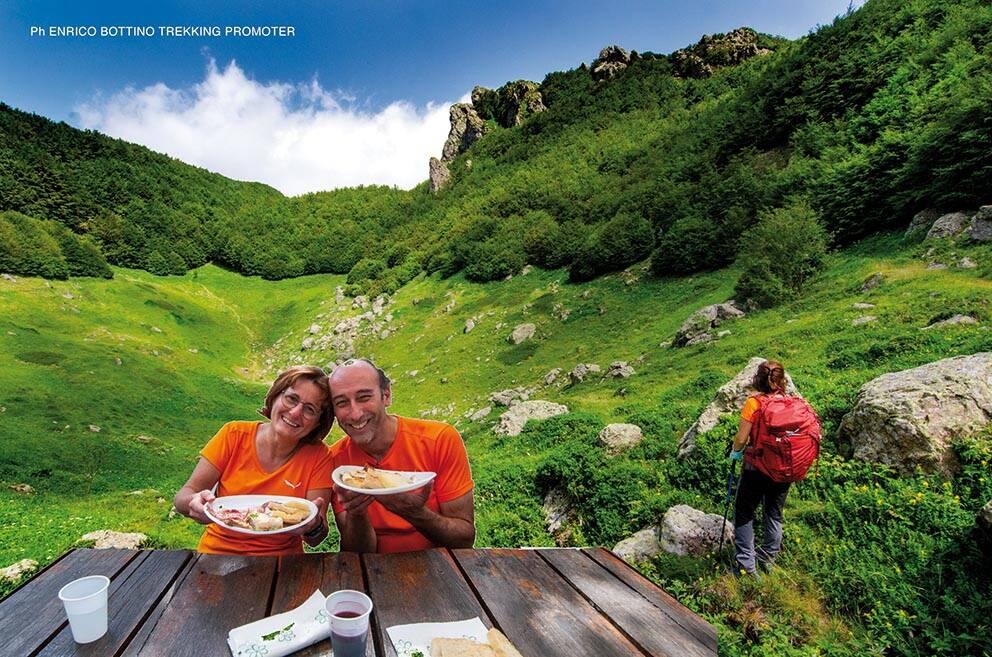 Barbecue in Aveto con camminata: anello Passo del Chiodo – Monte Trevine – Tre Faggi