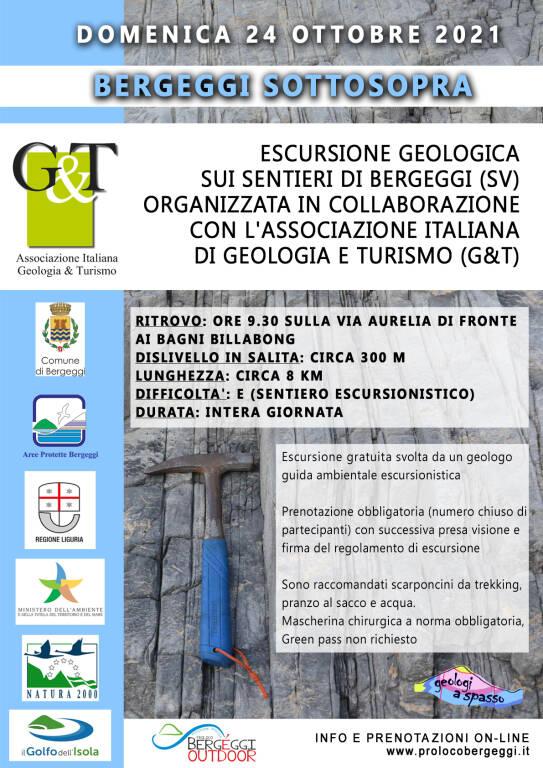 Escursione geologica  - BERGEGGI SOTTOSOPRA