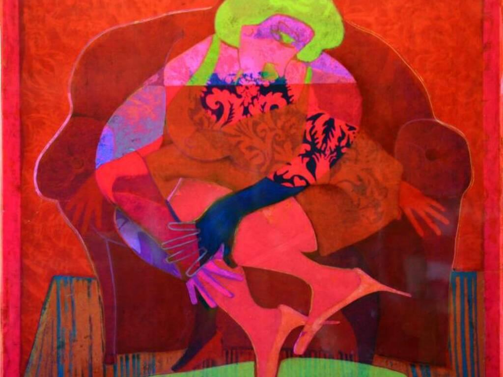 """""""Mastica e Sputa"""", le opere di Giovanni Maranghi in viadelcampo29rosso, in omaggio a Fabrizio De André"""