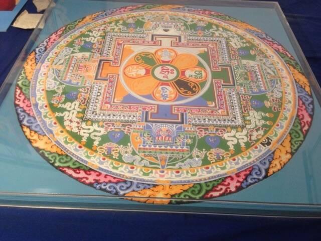 mosaico mandala