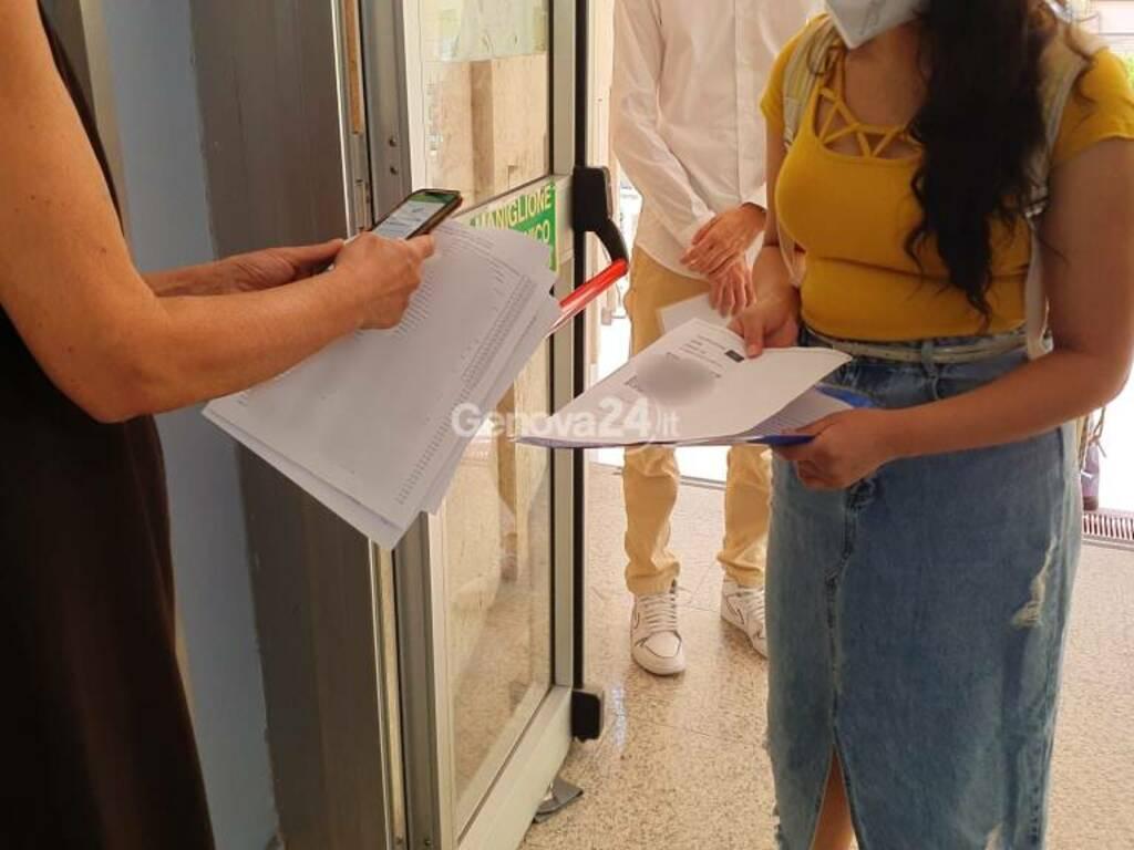 green pass studenti università genova