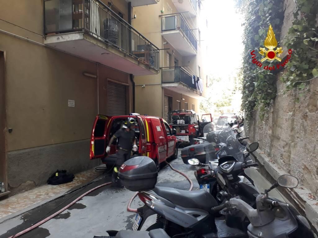 incendio via emery marassi