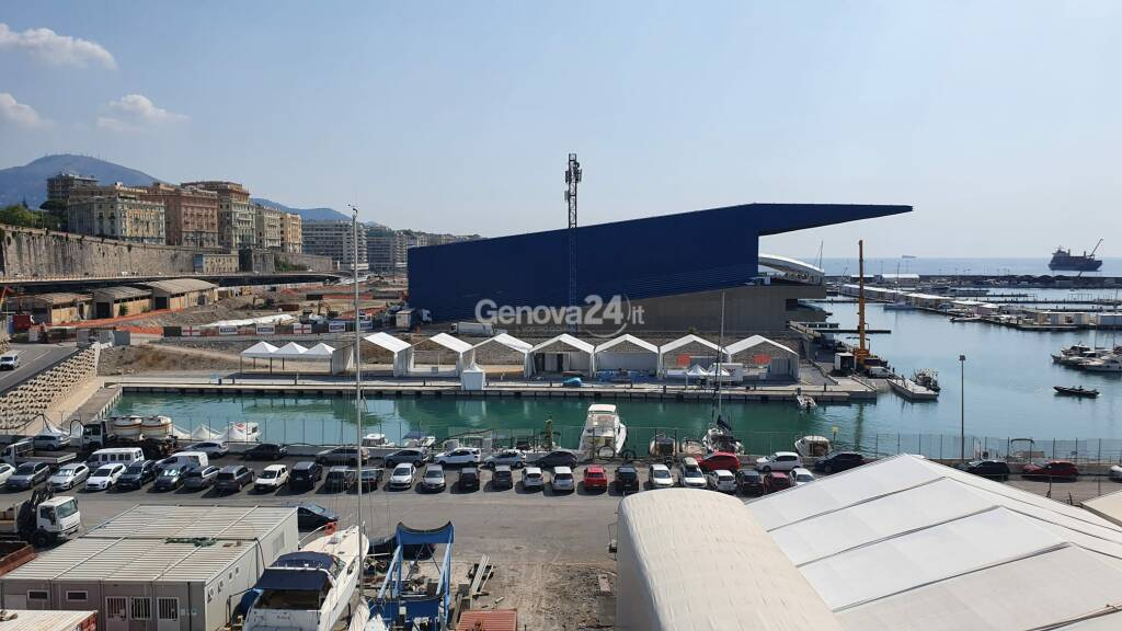fiera waterfront padiglione blu jean nouvel