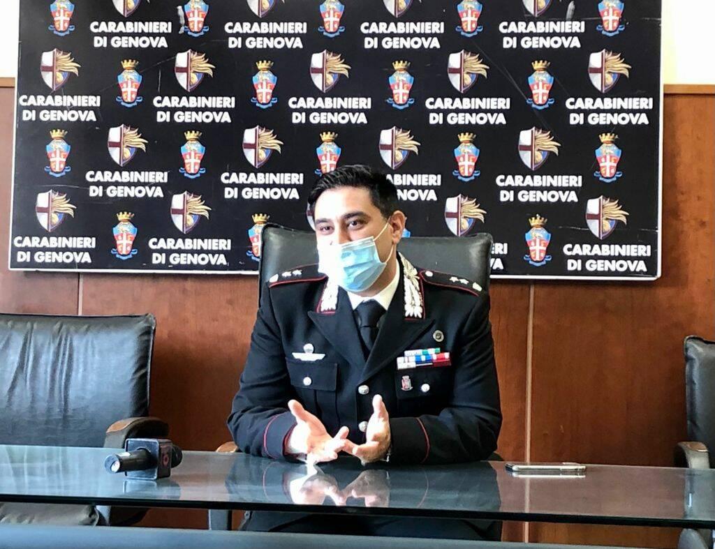 Michele Lastella, comandante reparto operativo carabinieri Genova