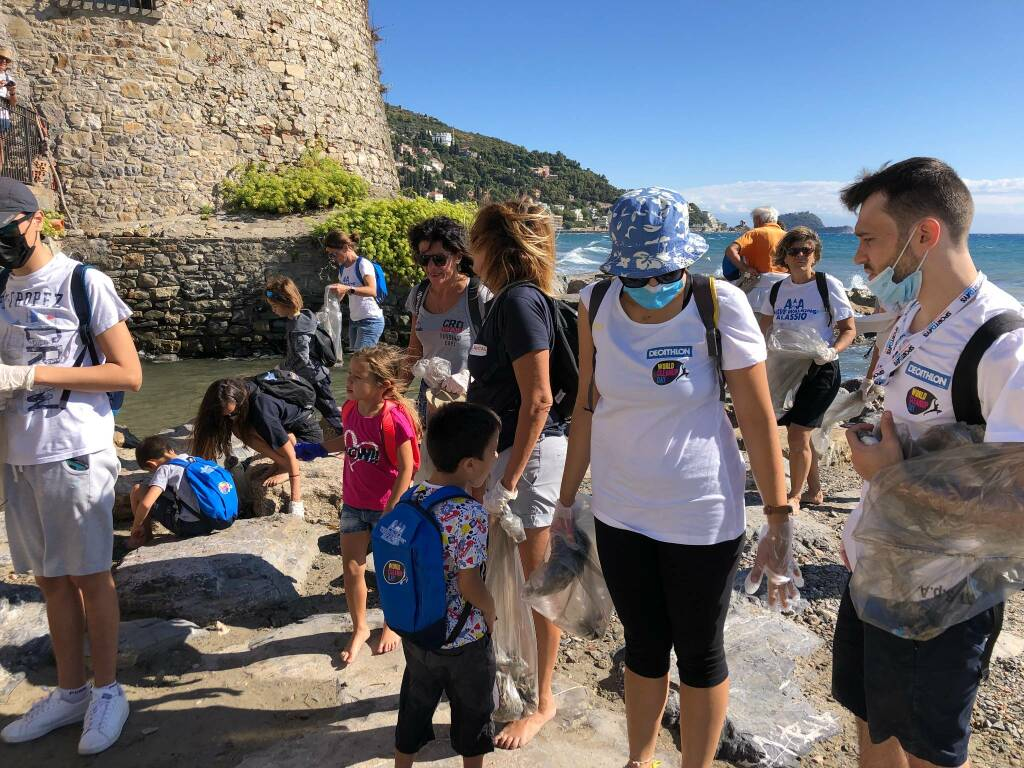 World Clean Up Day Alassio