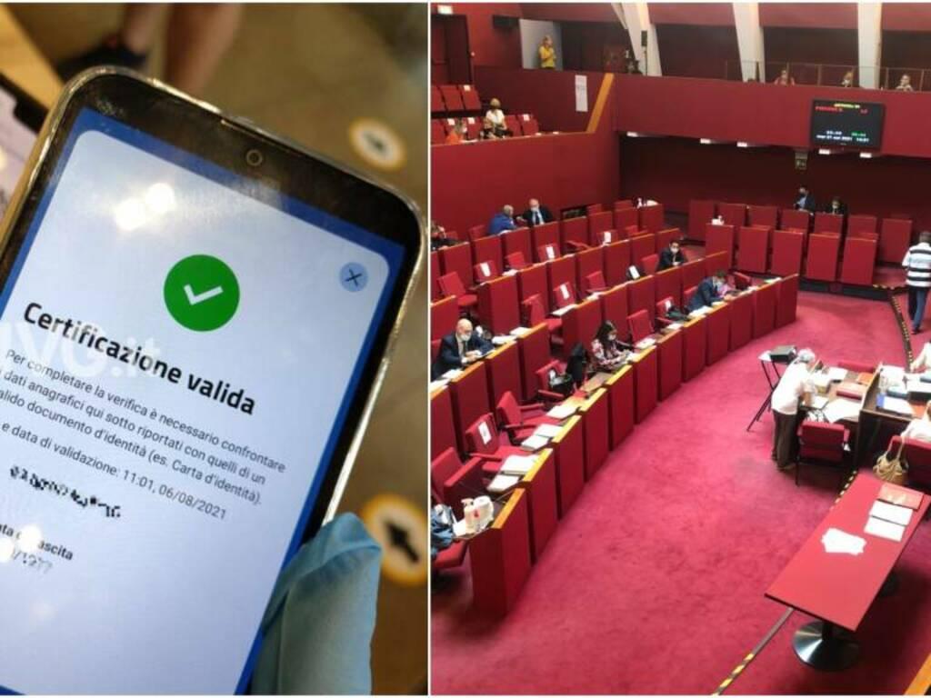 green pass consiglio comunale