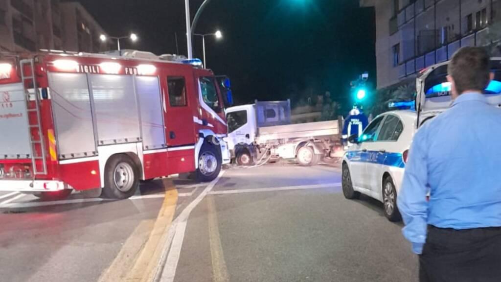 incidente corso europa vigili fuoco