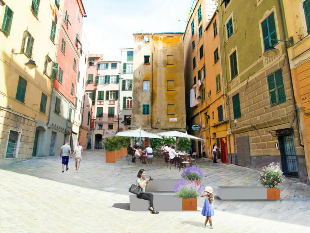 progetto piazza sant'elena