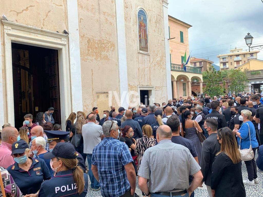 Il funerale di Marika Galizia