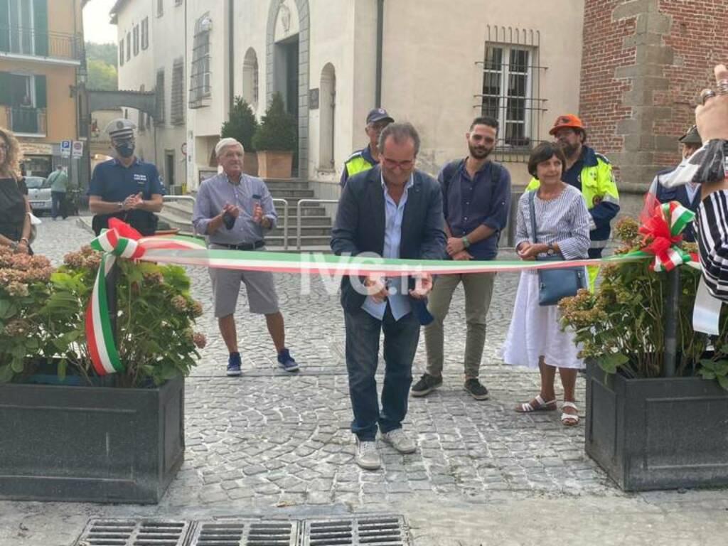 Inaugurazione piazza Angelo Ferrari a Millesimo