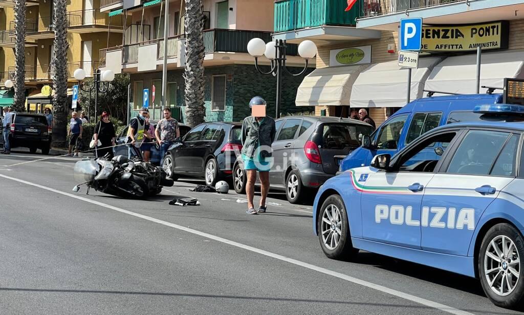 Incidente stradale a Borghetto