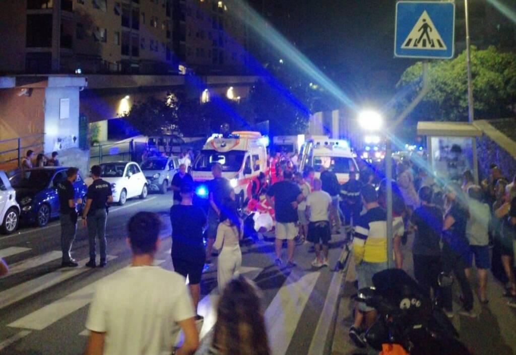 Incidente via Ferrara