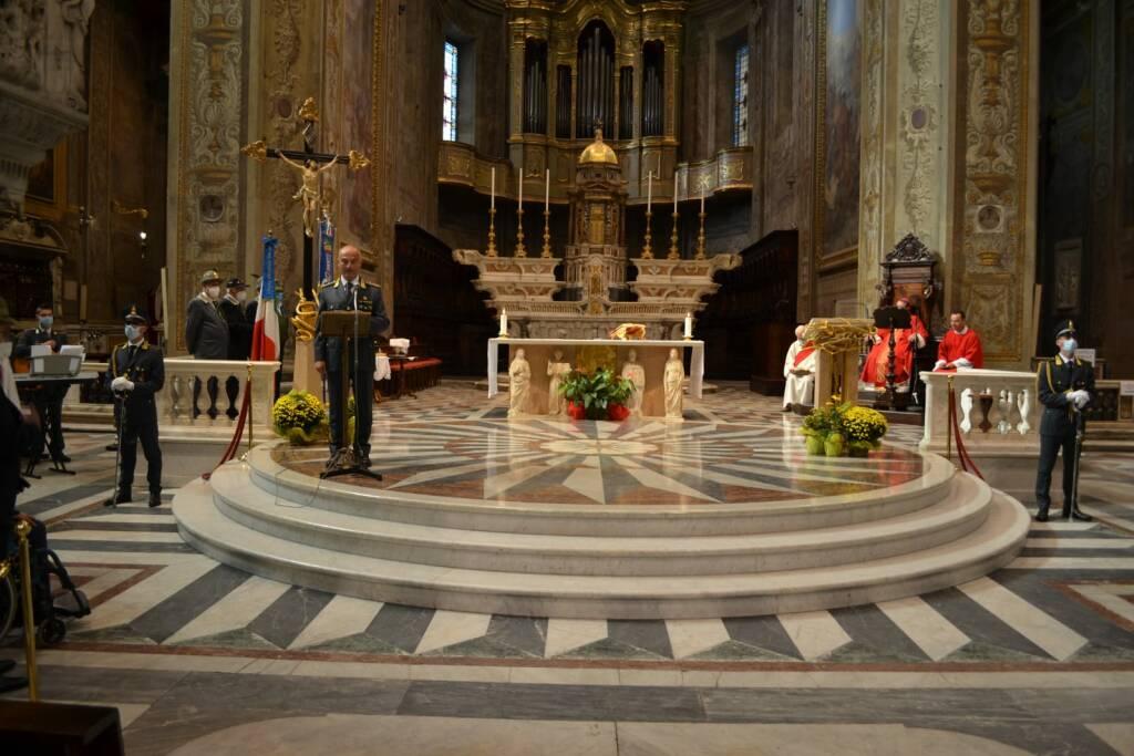 Le Fiamme Gialle di Savona hanno celebrato San Matteo
