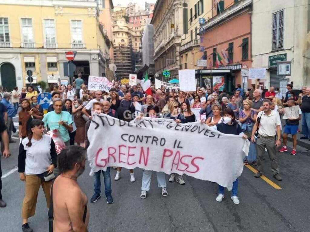 Manifestazione no green pass del 25 settembre