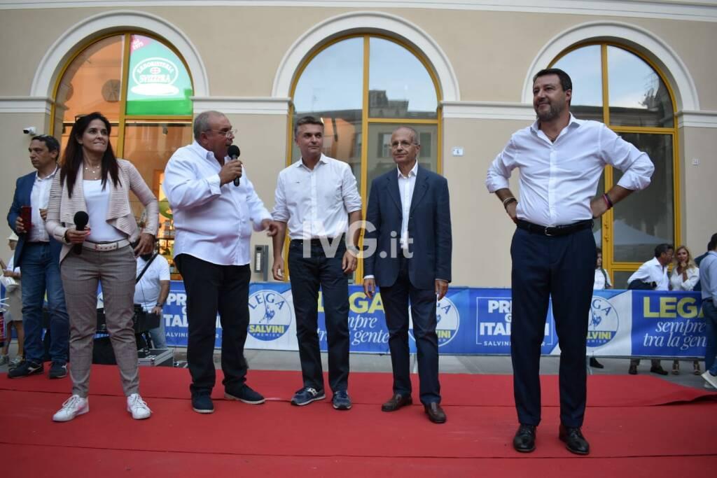 Matteo Salvini a Savona