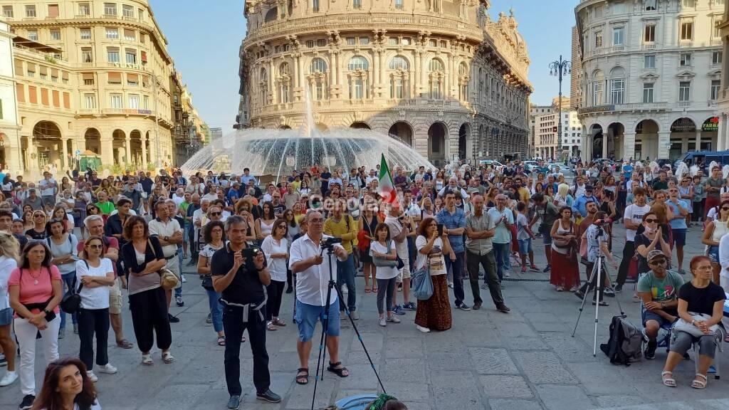No green pass, settimo sabato in piazza