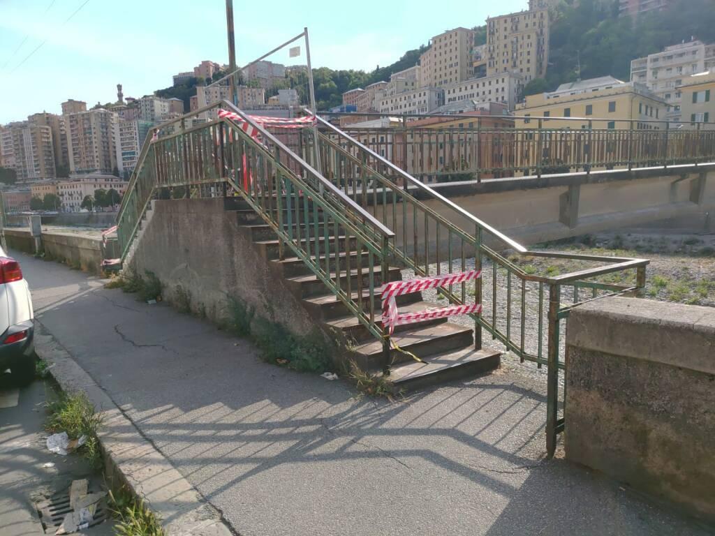Passerella pedonale di via Bobbio