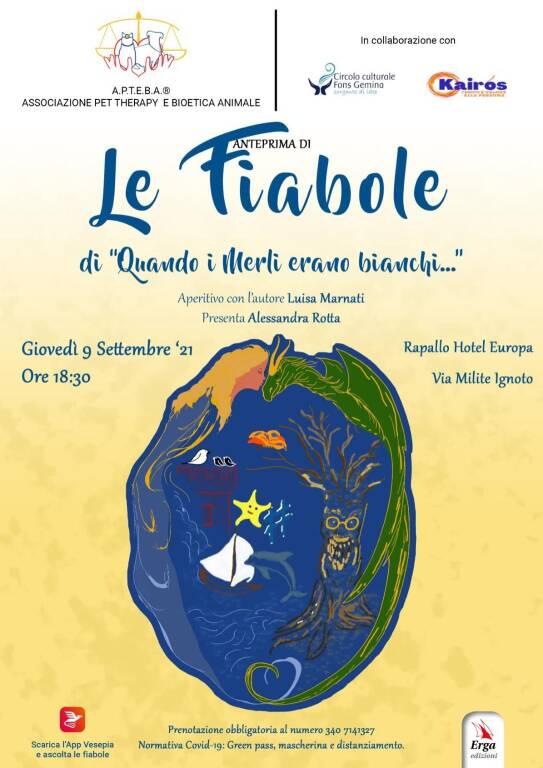 """Rapallo """"Le Fiabole"""" libro Luisa Marnati"""
