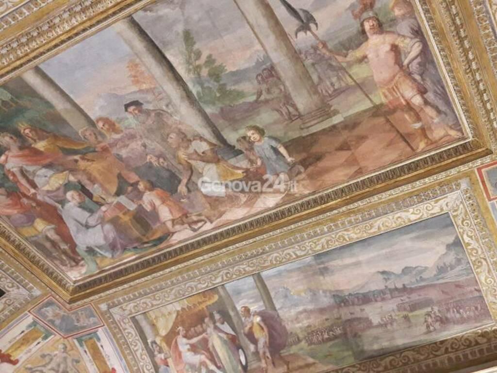Affreschi Palazzo Stefano Squarciafico