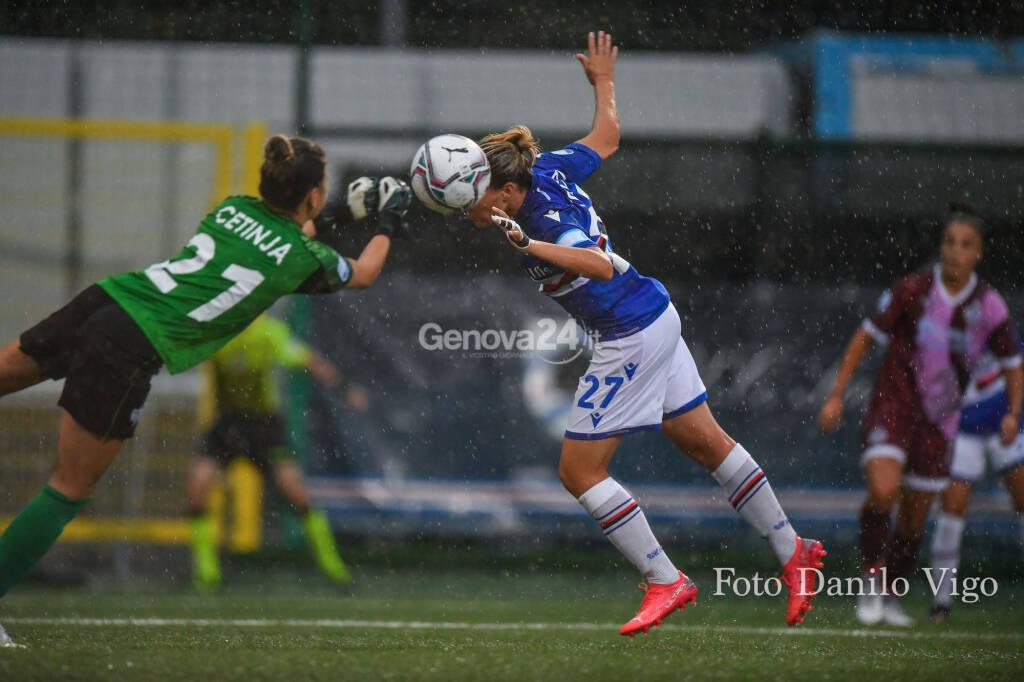 Sampdoria Women Vs Pomigliano