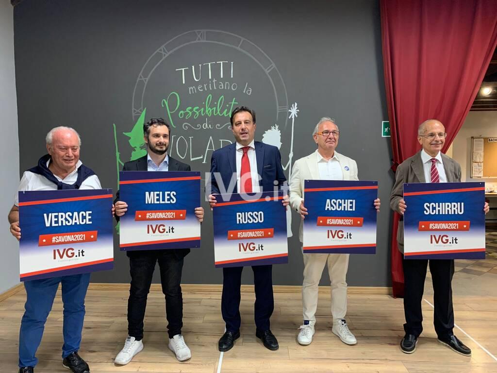 Savona 2021, il dibattito dei candidati sindaco