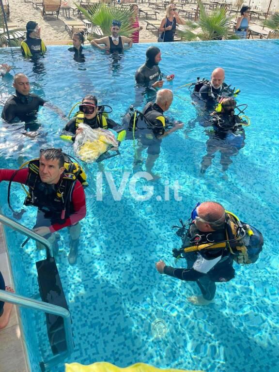 """Successo per il """"matrimonio subacqueo"""" celebrato a Savona"""
