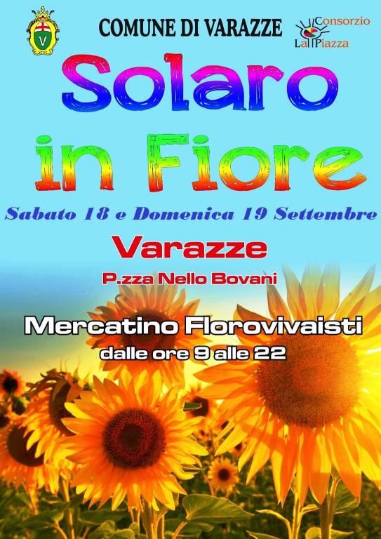 "Varazze ""Solaro in Fiore"" 2021 mercatino"