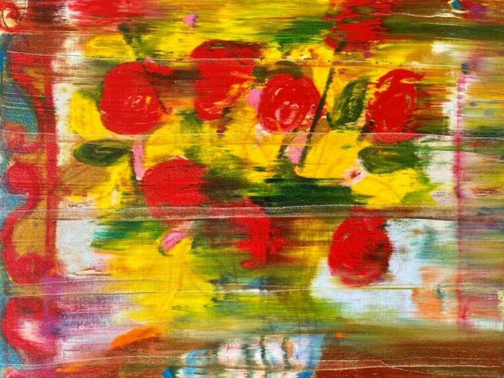 """Rose e Burlanchi"" mostra d'arte Claudio Carrieri"