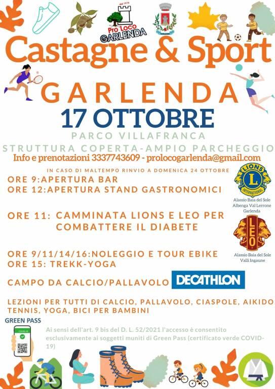Castagne e Sport