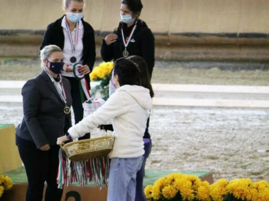 Ottimi i risultati dell\'A.S.D. Le Perle Nere di Giuele ai Campionati Italiani di Volteggio