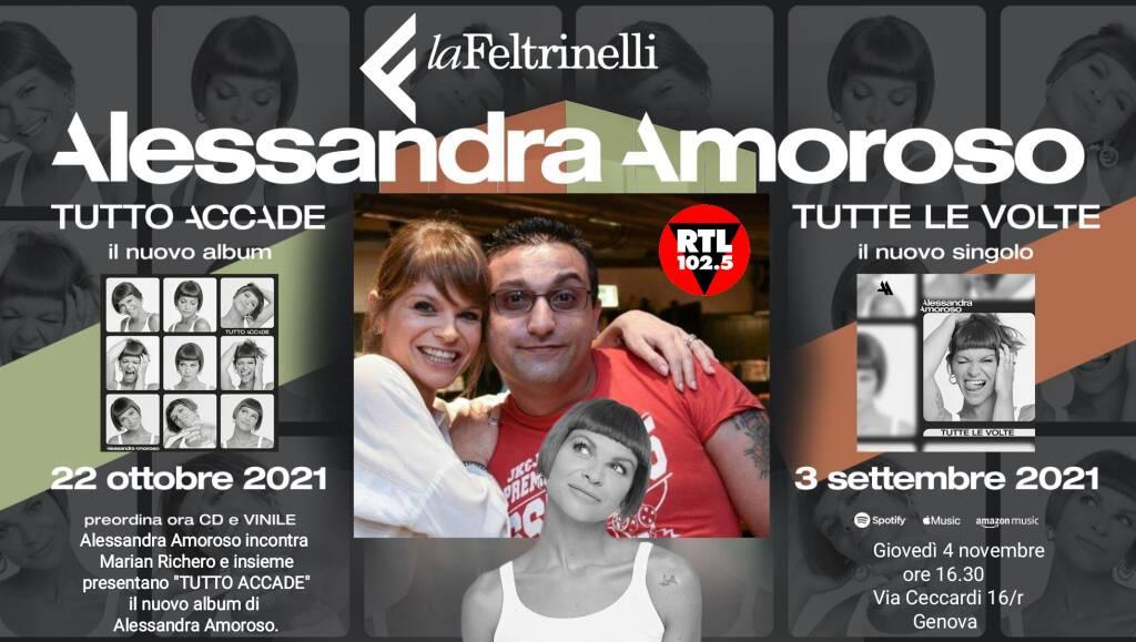 Alessandra Amoroso e Marian Richero arrivano a Genova