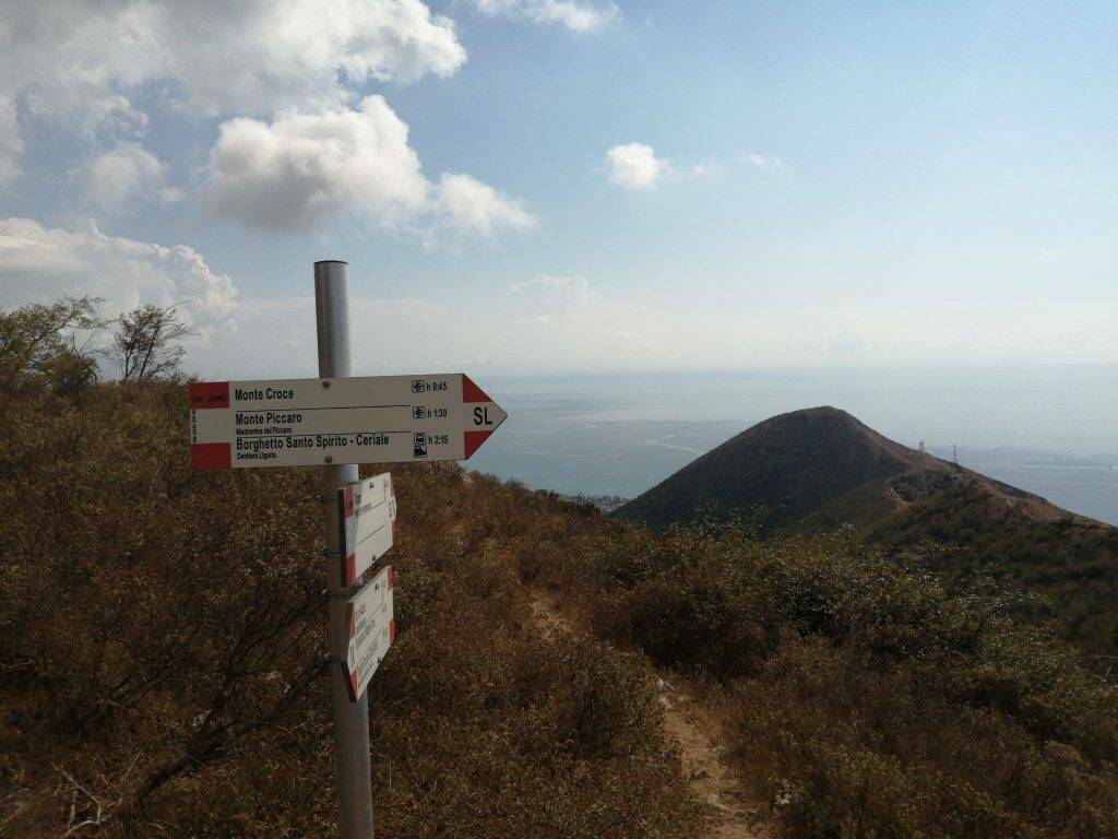 Trekking al Monte Acuto, da Ceriale