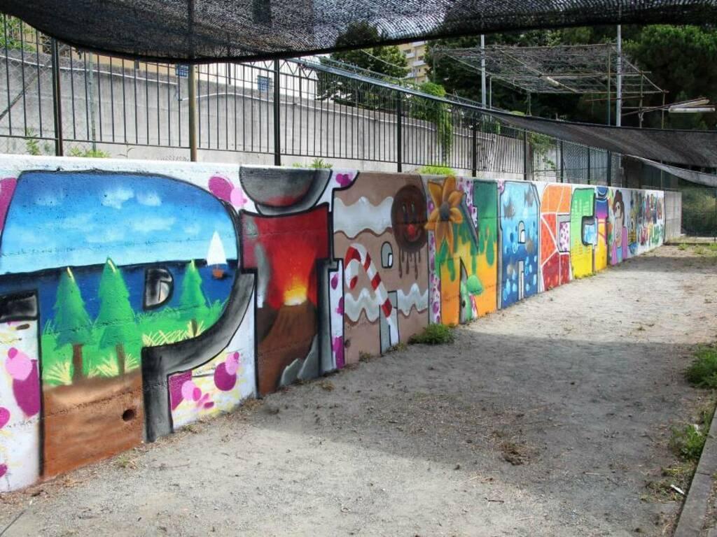 Cep, inaugurazione dei primi muri di libera espressione per writers
